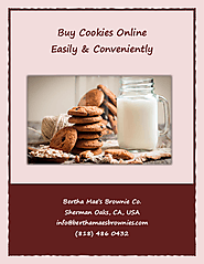 Buy Cookies Online Easily & Conveniently | edocr