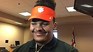 Jackson Carman explains his decision to sign with Clemson over Ohio State