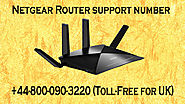 Netgear Router Support Number 0800-090-3220 (Tool-Free)