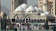 Masjid Ghamama - special salah for invocation of rain - Eid salah here during the last four years