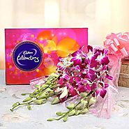 Send Orchids Enchantment Online Same Day Delivery Across India @ Best Price
