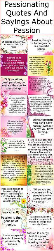 Passionating Quotes And Sayings About Passion – Quotes And Sayings