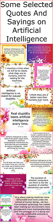 Some Selected Quotes And Sayings on Artificial Intelligence – Quotes And Sayings