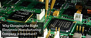 How businesses can benefit with professional Electronic manufacturing services?