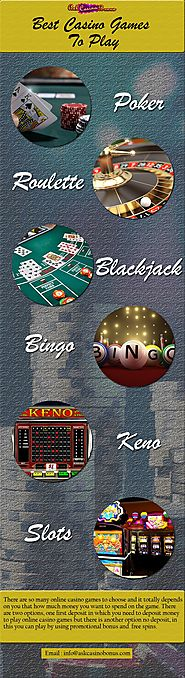 Best Casino Games That You Play Online.