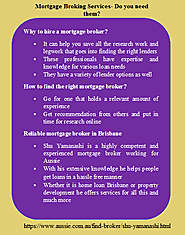 Advantages of a Mortgage Broker