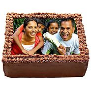Order/Send Delicious Chocolate Photo Cake Online - YuvaFlowers.com