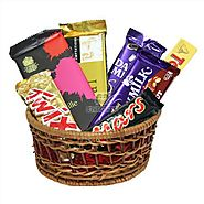 Send Choco Delight special Hamper Same Day Delivery - OyeGifts