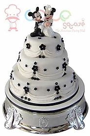 Wedding Cakes Online - Mickey Minnie