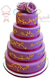 Cake Square Chennai -Purple Beauty
