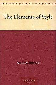 The Elements of Style - William Strunk
