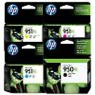 coloured Ink cartridges pack for HP Officejet pro 8610