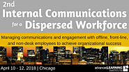 April 10-12: 2nd Internal Communications for a Dispersed Workforce | Chicago