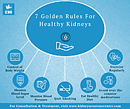 7 Golden Rules For Healthy Kidneys