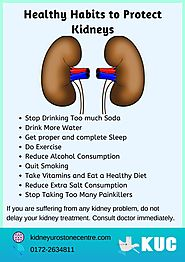 Healthy Habits to Protect Kidneys