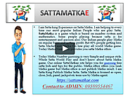 Exploring Sattamatka Updated Results - sattamatkae on Vimeo