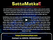 Exploring Sattamatka, Kalyan Matka 9 January Results - sattamatkae on Vimeo