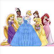 Hallmark 221664 Disney Fanciful Princess Centerpiece