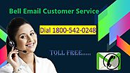 Bell email customer service phone number 1800-542-0248
