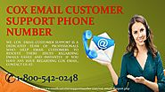 Cox email tech support number 1800-542-0248