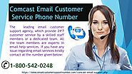 Dial Comcast Email Customer support Number 1-800-542-0248