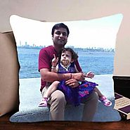 Buy or Send Dad N Me Cushion - Personalized Gifts - OyeGifts.com