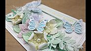 HOW TO: Pastel Flowers - card and box die set - by Christina Griffiths