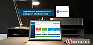 Unable to Print from QuickBooks | Technical Help Support | 1855-441-4417