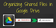 Organizing Shared Files in Google Drive | Teaching Forward
