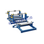 Rewinding Machine with Web Guiding System, Web Aligner Unit
