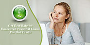 Personal Loans - Unsecured loans for people with bad credit in UK