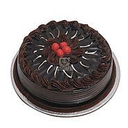 Send Truffle Cake 500gm Online Same Day Delivery Across India @ Best Price