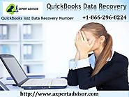 QuickBooks Auto Data Recovery Service - Dial +18662968224 for Support