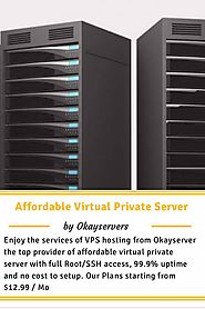 Affordable Virtual Private Server