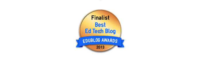 Headline for Best Resource Sharing / Ed Tech Blog 2013 - Edublog Awards
