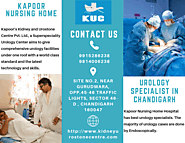Best Urology Specialist in Chandigarh - Kapoor Hospital