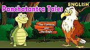 The Tortoise and the Eagle | Panchatantra Tales in English | Moral Bedtime Stories for Kids