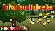 The Proud Tree and the Honey Bees | Panchatantra English Moral Stories For Kids | Aesop Fables