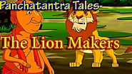 The Lion Makers | Panchatantra English Moral Stories For Kids | Maha Cartoon TV English