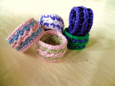 CROCHET PATTERN: Cabled Ring
