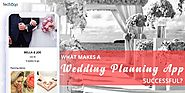 Techugo - What Makes A Wedding Planning App Successful?