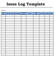 Issue Log Templates | 2+ Word & Excel | Free Log Templates
