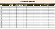 Change Log Template | Prepared in MS Word | Free Log Templates