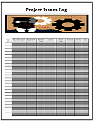 Project Issues Log Template | Download in MS Word | Free Log Templates