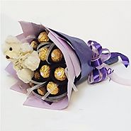Buy/Send Chocolate Bouquet - YuvaFlowers