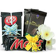 Buy/Send Yummy Chocolates Hamper - YuvaFlowers