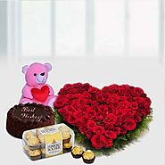 Buy/Send A Hamper Full Of Surprises Online - YuvaFlowers.com