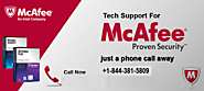 McAfee Support +1-844-381-5809