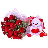 Buy/Send Rosy Surprise Online Same Day Delivery - OyeGifts.com