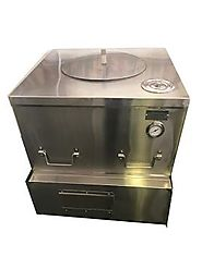 COMMERCIAL TANDOOR OVEN FOR RESTAURANTS, NSF CLAY GAS TANDOORI OVEN - 32""